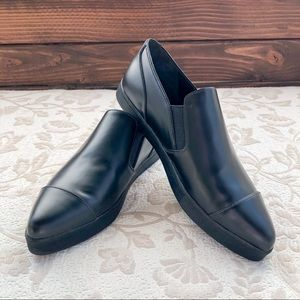 VINCE Black Arden Loafers ladies size 7